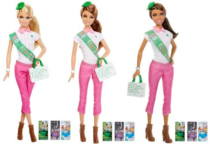 barbie scout