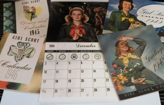 1940s calendars in the GSGATL Archives collections