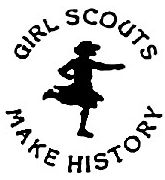 girl scouts make history logo 2