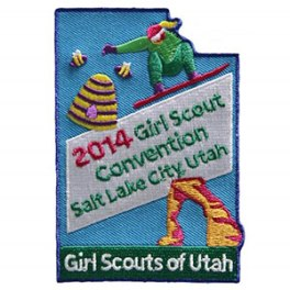utah convention patch