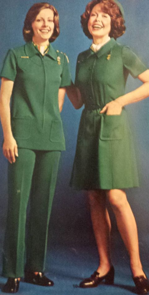 from the 1974-75 Girl Scout Catalog