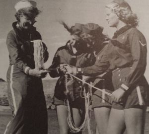 1946 Catalina Island Girl Scout Mariner Camp, photo courtesy Girl Scout Collector's Guide, 2nd Edition, 2005