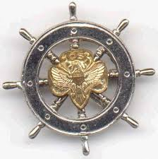 Mariner Scout membership pin, 1946-1963, photo courtesy of vintagegirlscout.com