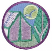 junior camper badge